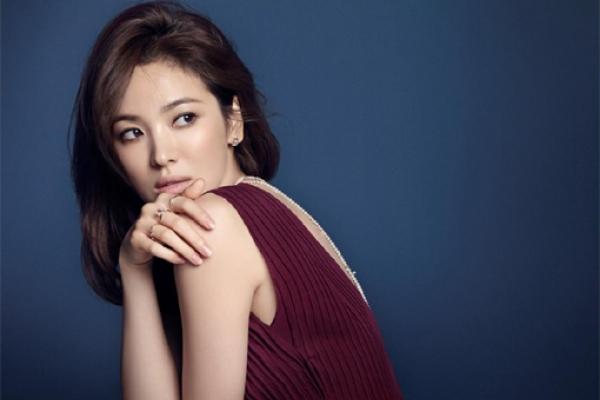 Song Hye-kyo's jewelry shoot revealed