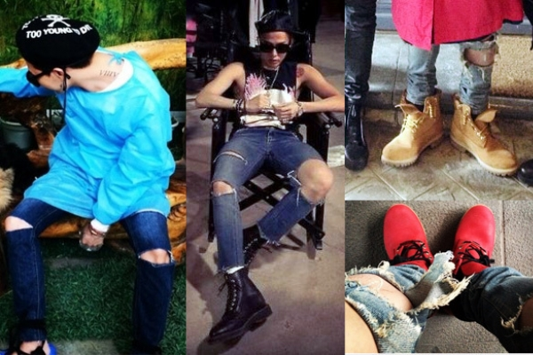 G-dragon's 'swag look' draws attention