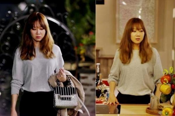 Gong Hyo-jin still fabulous in 'men's sweater'