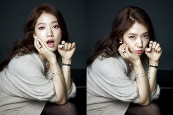 Park Shin-hye's B Cut jewelry pictorial