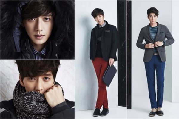 Park Hae-jin dressed in fall, winter clothes