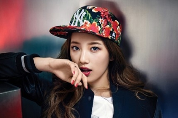 Suzy being glam in sporty outfits