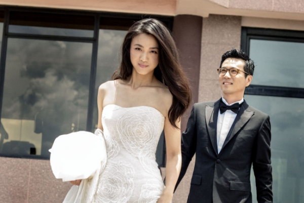 Tang Wei and Kim Tae-yong marry