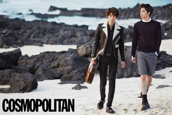 Roy Kim and Jung Joon-young on Jejudo Island