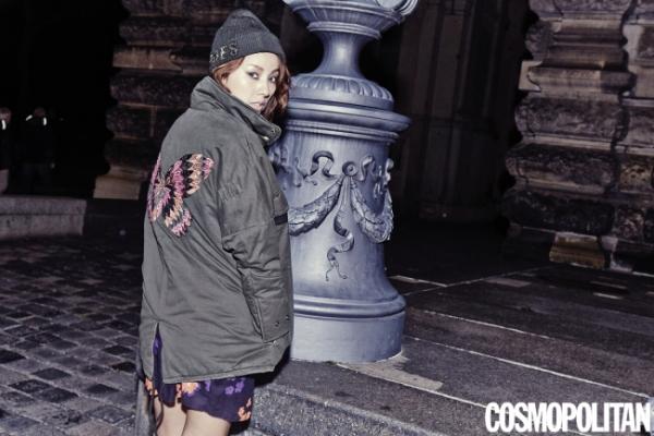 Lee Hyori boasts a stylish look in Berlin