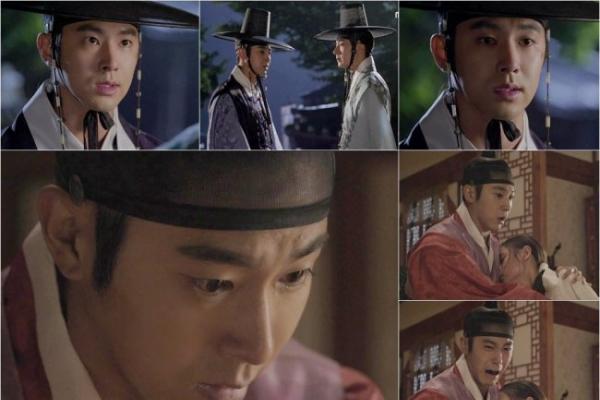 Yunho's crying scene worth praising