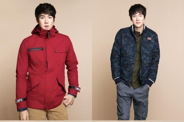 Yoo Yeon-seok models North Face White Label