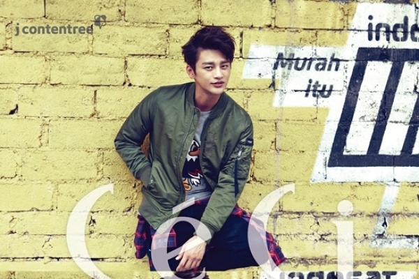 Seo In-guk in street fashion
