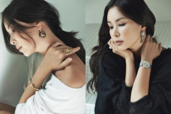 Ko So-young's elegant jewelry photos released