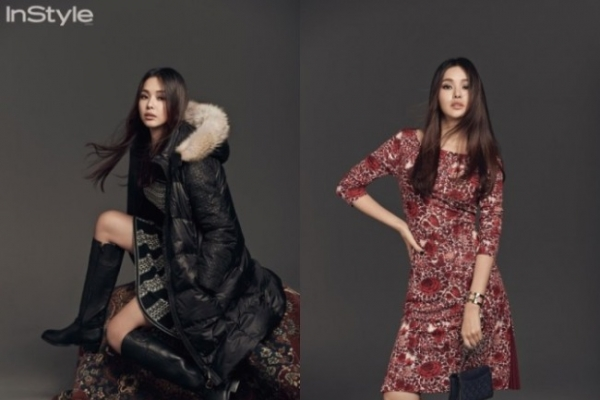Lee Ha-nui boasts alluring look with Tory Burch