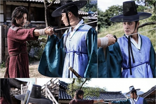 Tense action scene of Yunho expected