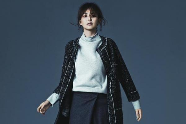 Japanese top model Shiho shows her charisma