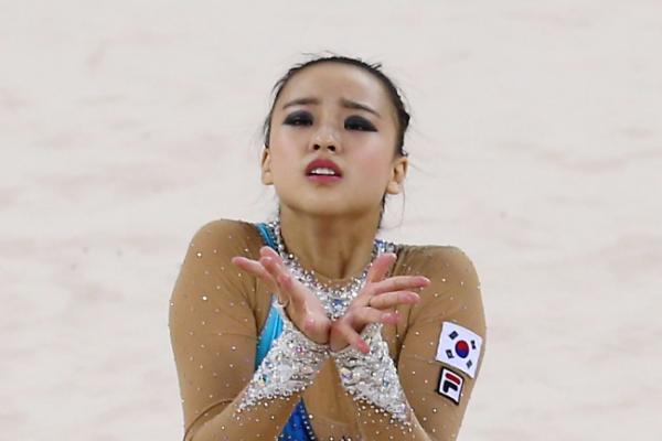[Asian Games] Rhythmic Gymnastics: South Korea's Son Yeon-jae crowned the Asian rhythmic gymnastics queen