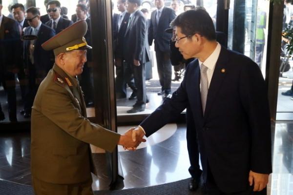 High-ranking N. Korean delegation arrive here for AG closing ceremony