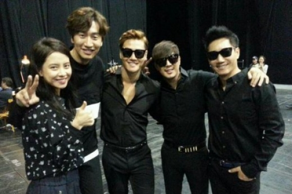 'Running Man' team on Asia fan meeting tour