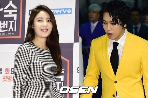 Actress Kim Sa-eun denies rumor on marriage with Sungmin