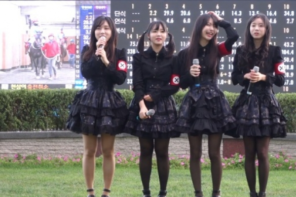 Girl group blasted for 'Nazi-like costumes'