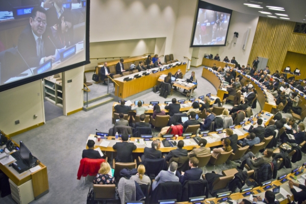 U.N. panel OKs human rights resolution calling for referring N.K. to ICC