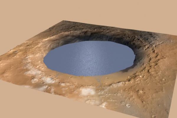 (Photo News) Evidence of Mars water