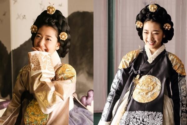 Park Shin-hye spreads beauty of 'hanbok'