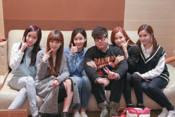 Crayon Pop teams up with Shinsadong Tiger