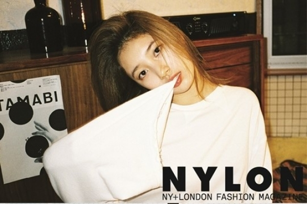 Suzy goes natural in fashion spread