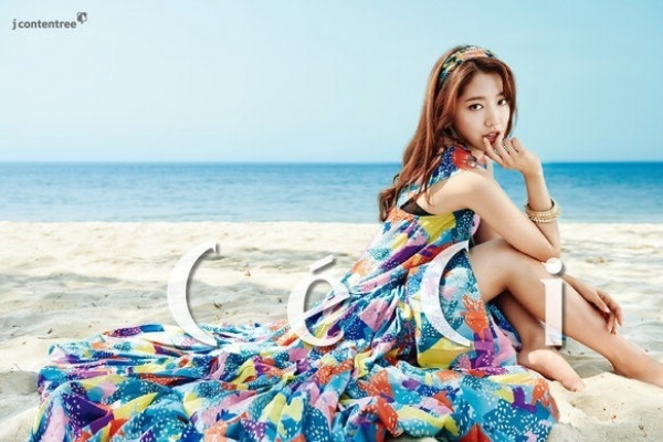 CeCi reveals first Park Shin-hye photos for upcoming March issue
