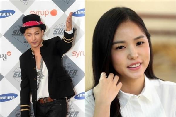 Big Bang's Taeyang dating actress Min Hyo-rin