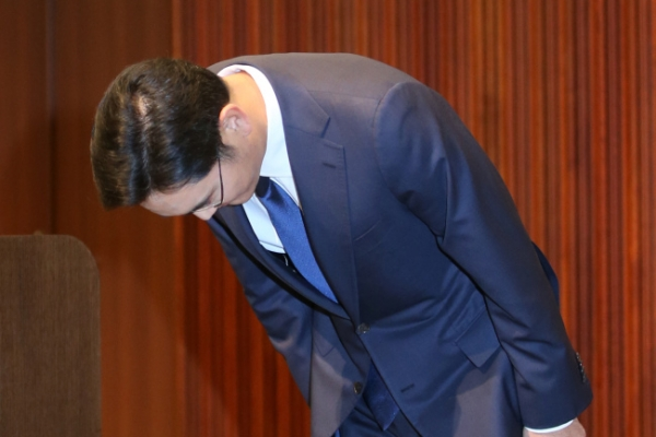 Samsung heir apologizes over MERS outbreak at its hospital