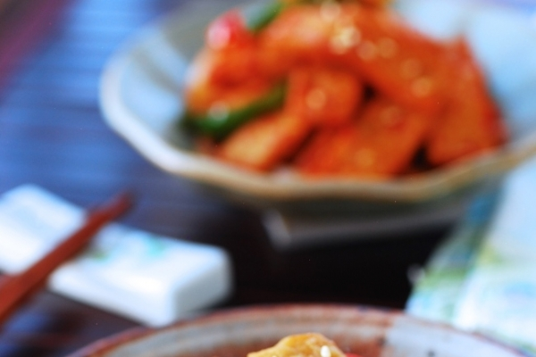 Eomuk Bokkeum (Stir-fried fish cakes)