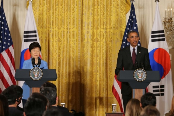 Park, Obama renew alliance, vow to curb N.K. nukes
