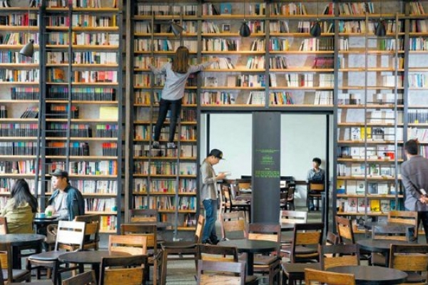[Weekender] Book cafes aren't just about books