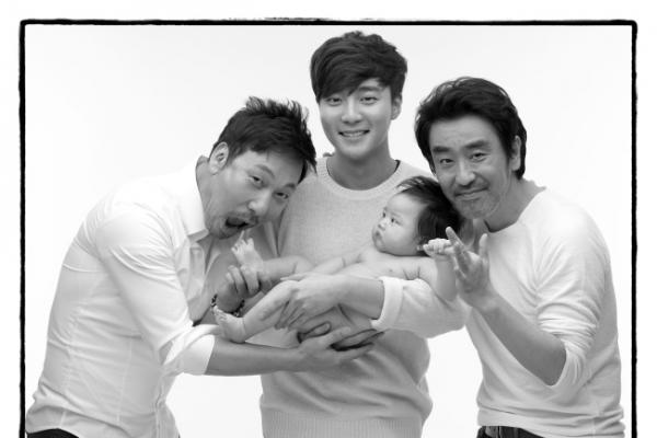 Korean celebrities pose with babies to raise adoption awareness