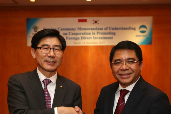 [Photo News] Woori Bank forges partnership with Indonesia