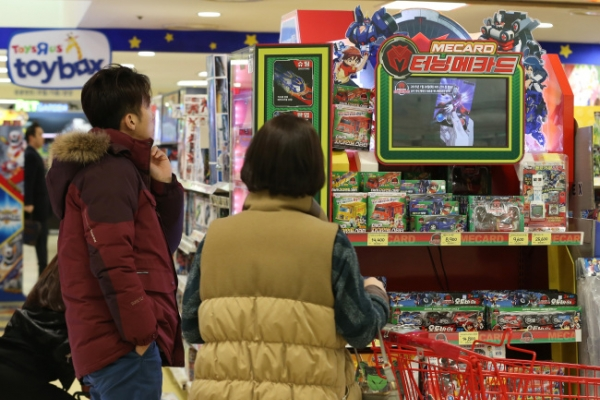 Korean toy market driven by animation success, parents' pride