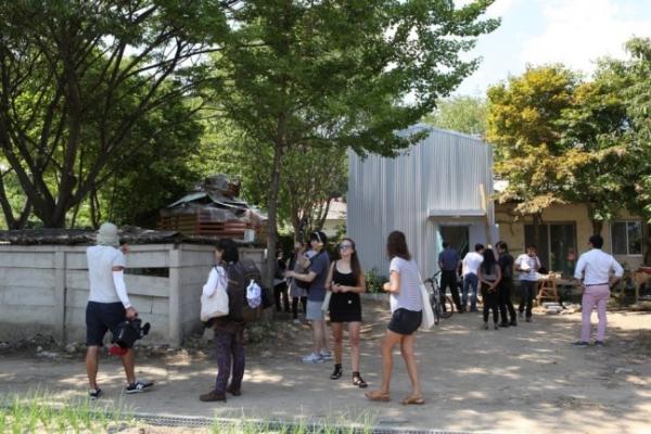 DMZ art project opens residency program in border town