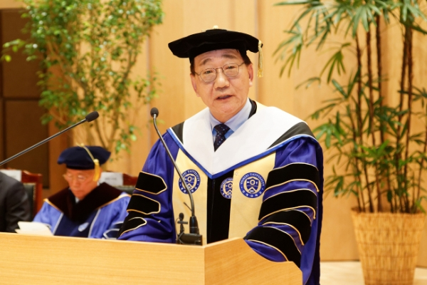 Yonsei's new chief takes office