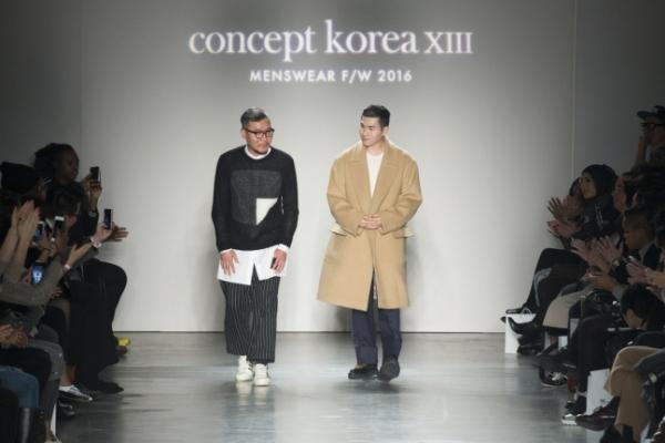 Concept Korea shows menswear at NYFW