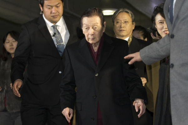 Lotte founder testifies over his mental status