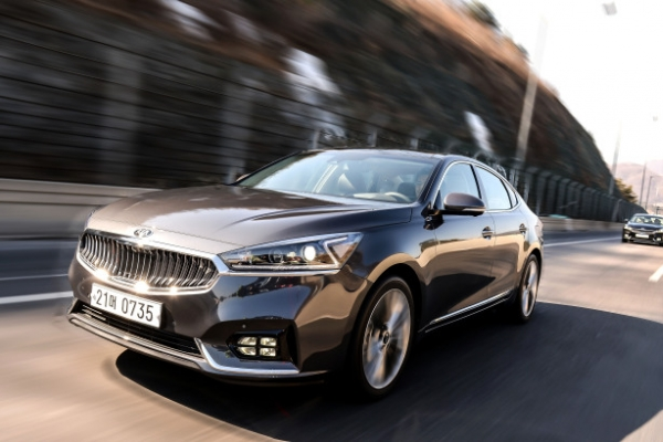 [Behind the Wheel] All-new K7: Masculine but soft