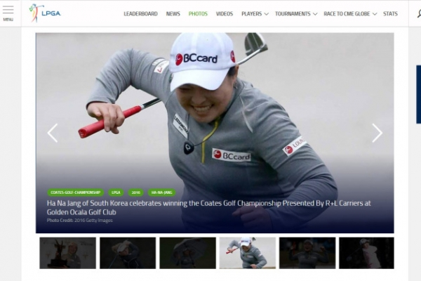 South Korean Jang Ha-na claims maiden LPGA win