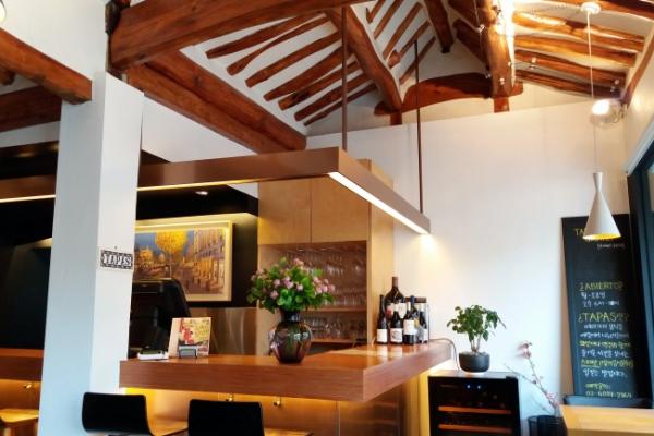 [The palate] Catalan flavors reinterpreted in historic Seochon