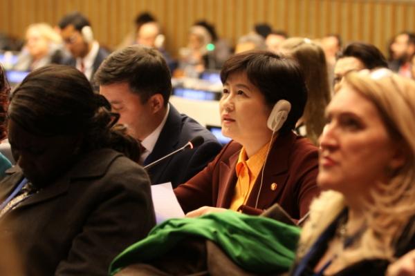 South Korean gender minister advocates children's rights at U.N.