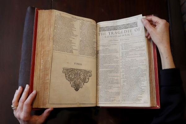 Rare Shakespeare first edition sold for nearly 2m pounds