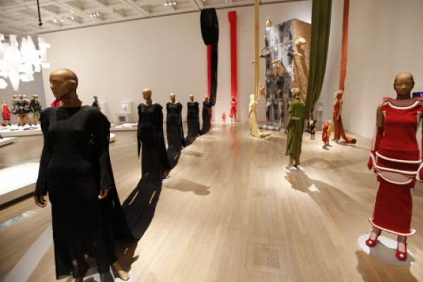 Tokyo museum exhibits Issey Miyake's constant innovations