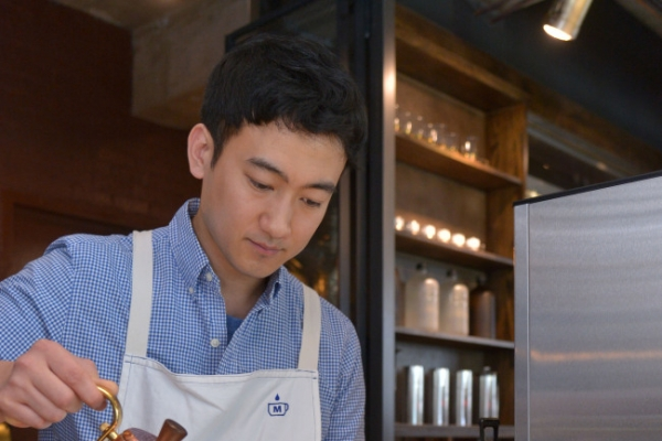 High-end mocha, aged cold-brewed coffee at new roaster-cafe