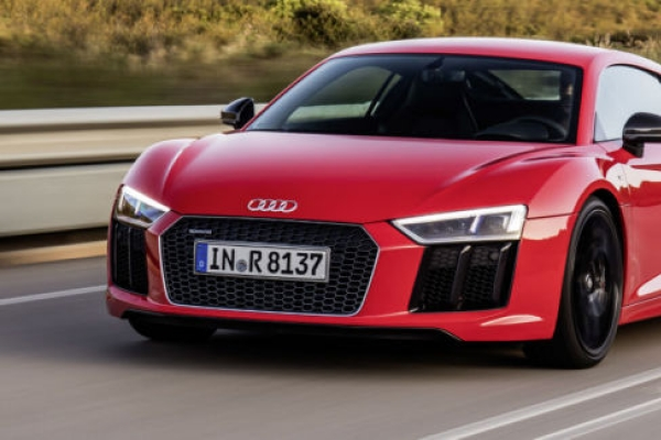 Audi presents cars offering driving pleasure