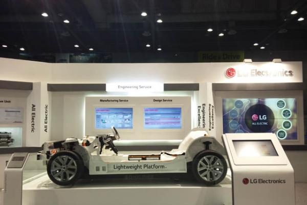 LG to shut down auto engineering business