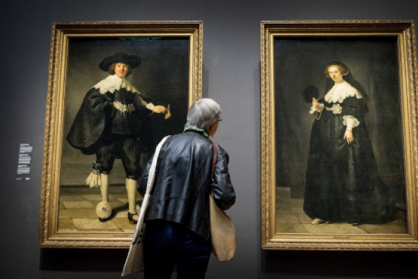 Rembrandt's 'Kim and Kanye' back home after 400 years