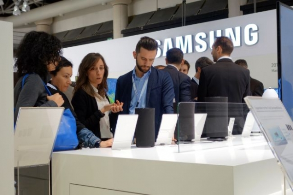 Europe accounts for less share in Samsung's revenue